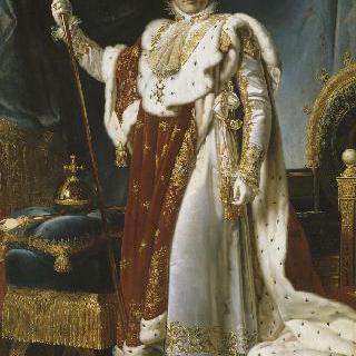 황제복을 입은 나폴레옹 1세