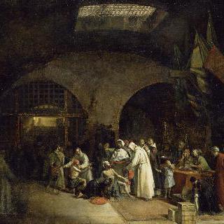 알제리의 감옥에서 석방된 죄수들