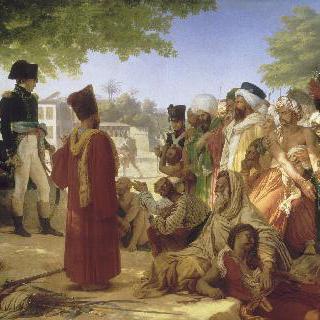 1798년 10월 30일 카이로 지방의 반역자의 죄를 사하는 보나파르트