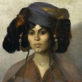 비스크라 여인의 두상