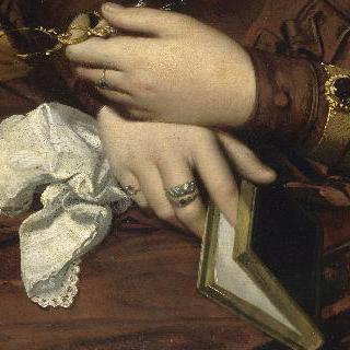 마리코트 드 생트 마리 부인의 초상 (부분)