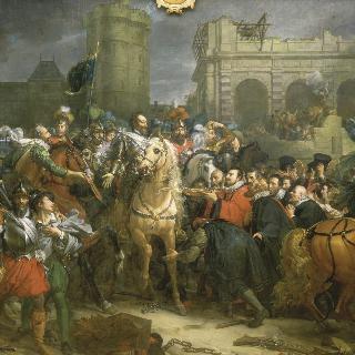 앙리 4세의 파리 입성, 1594년 3월 22일