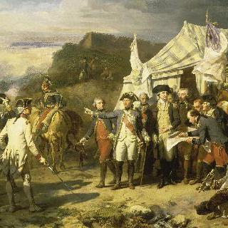 1781년 10월, 요크타운의 진지