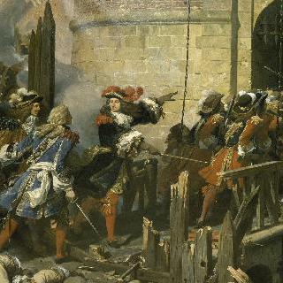1677년 3월 17일, 발랑시엔을 점령한 황제 루이 14세