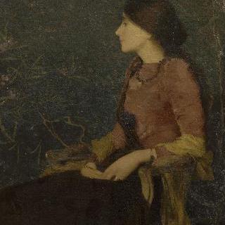 타데 카롤린 자케의 초상