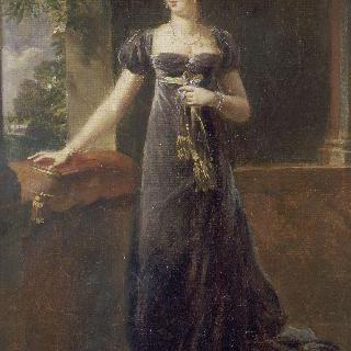 오귀스타 아멜리 드 바비에르, 외젠 드 보아르네의 부인이자 이탈리아의 부여왕
