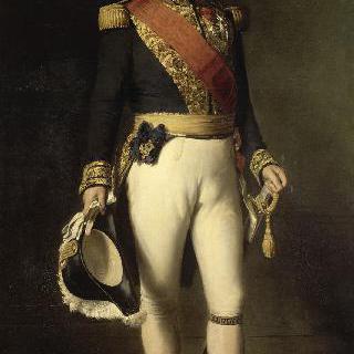 가터 기사단 훈장을 단 프랑스 왕 루이 필립 1세 (1773-1850)의 1830년 초상