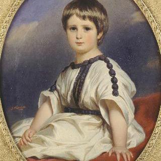 3살 때의 필립-알렉상드르-마리(1838-1917), 1881년 뷔텐베르그 공작