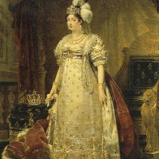 앙굴렘 공작 부인 마리-테레즈-샤를로트의 전신상