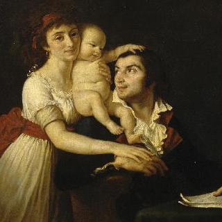 카미유 데물랭 가족의 초상