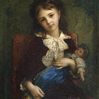 카트린 드 부샤주의 어린 시절
