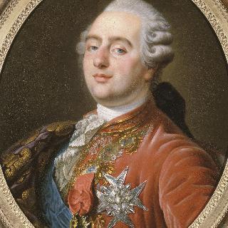 황금 양털 기사단과 성령 기사단 옷을 입은 프랑스 왕 루이 16세 (1754-1793)