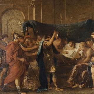푸생의 복제화 게르마니쿠스의 죽음