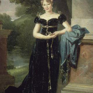 마리 락진스카, 왈레브스카 백작부인 초상