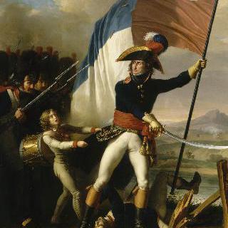 아르콜 다리의 공격을 지휘하는 오그로 장군