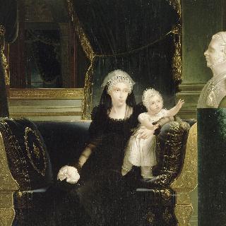 베리 공작 부인 마리-카롤린 드 부르봉-세실 (1798-1870)