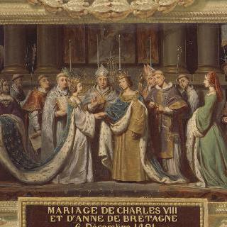 1491년 12월 6일 샤를 8세와 안 드 브르타뉴의 결혼식