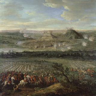 1674년 5월 15일, 왕군의 브장송 점령