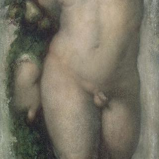 푸토 (로마 성 루가 아카데미 프레스코화 모작)