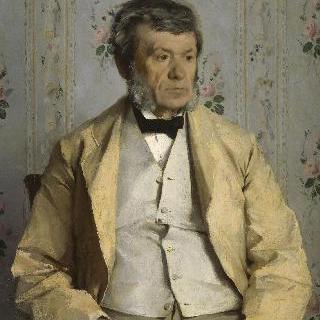 화가의 아버지, 피에르 마테의 초상