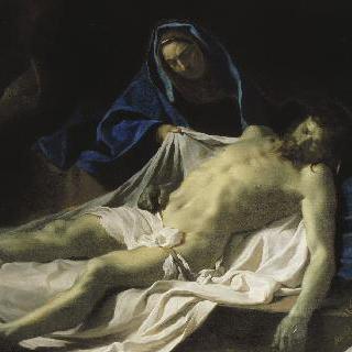 성모의 무릎 위에 놓인 그리스도의 사체