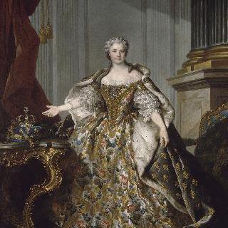 여왕 마리 레슈친스카의 초상 (1703-1738)