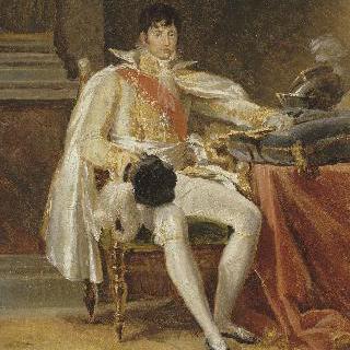 프랑스 총사령관 복장을 갖춘 루이 보나파르트