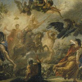 오스테리츠의 승리에 관한 우의화, 1804년 12월 2일