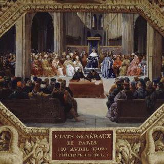 1302년 4월 10일, 파리에서 열린 삼부회