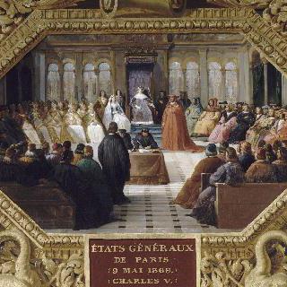 1369년 5월 9일, 파리에서 열린 삼부회