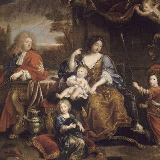 루이 14세의 아들 루이 드 프랑스의 가족