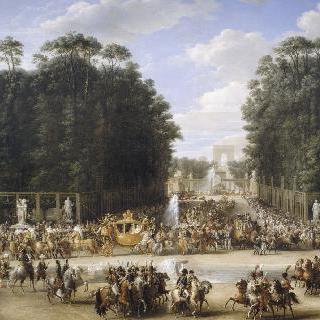 나폴레옹 1세와 마리 루이즈의 결혼식 행렬