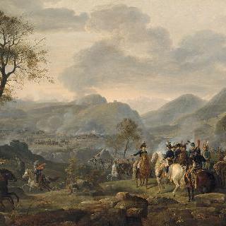 카스틸리온 전투에서의 보나파르트 장군, 1796년 8월 5일