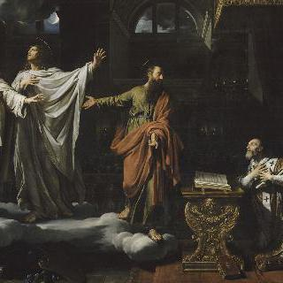성 암브로지오에게 나타난 성 제르배와 성 프로테