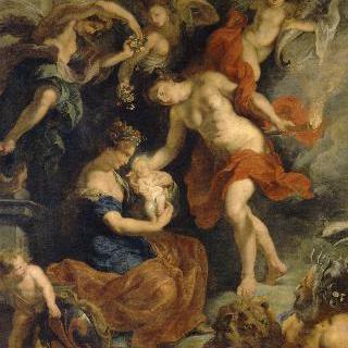 1573년 4월 26일 피렌체에서 태어난 마리 드 메디시스