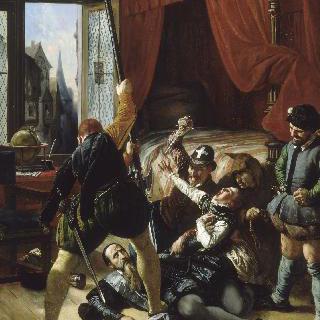 생 바로톨레미, 1572년 8월 24일 콩티 왕자 브리우의 살인
