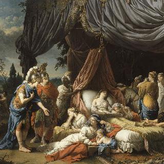 다리우스의 부인의 죽음
