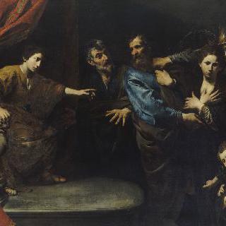 인정받은 수산나의 순결 (다니엘의 판결)