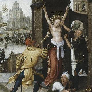 성녀 아가사의 순교