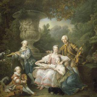 수르슈 후작과 그의 가족