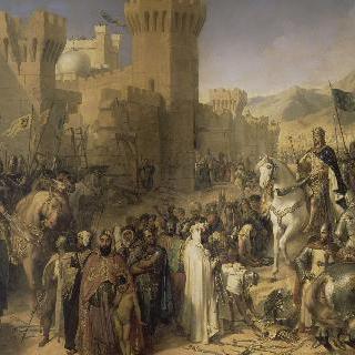 필립-오귀스트와 리차드 퀘르-드-리옹에 의해 되찾은 도시 프톨레마이스