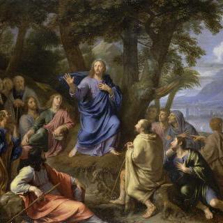 산에서 전도하는 예수