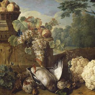 사냥감, 과일과 꽃양배추