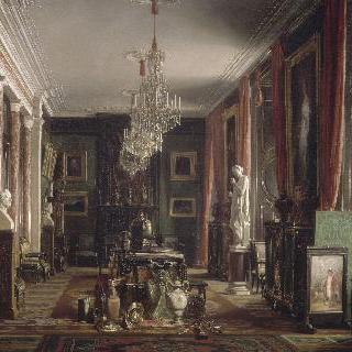 루브르궁 황실 미술관장의 사무실 내부