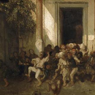 터키 학교의 하교
