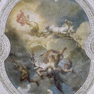 아폴론 신전의 천장 내부
