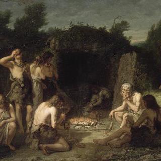 센 강가에서 열린 장례식 (선사시대 골족)