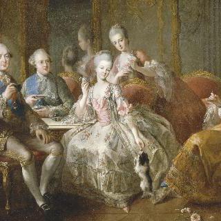 팡티에브르 공작의 가족
