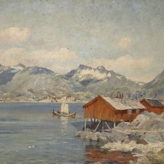 로포튼 지방 스볼베르의 어부의 집 (노르웨이)