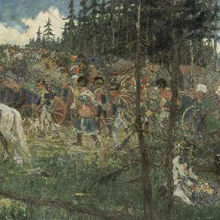1812년 모스크바 탈출